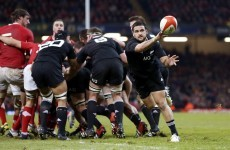 All Blacks scrum-half Piri Weepu suffers a minor stroke