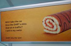 Irish Rail's cheeky new DART ad is very clever