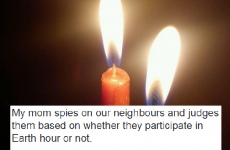 7 unfortunate people whose mammies heard about Earth Hour