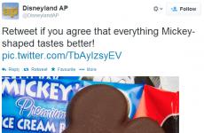 Disney's Irish followers will find their latest tweet absolutely filthy