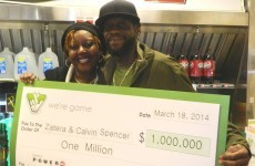 Meet the couple who won the lottery three times… in one month