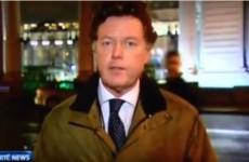 David Davin-Power got wolf-whistled at on the 9 O'Clock News last night