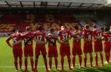 Snapshot: Haunting scenes as Anfield pays tribute to The 96