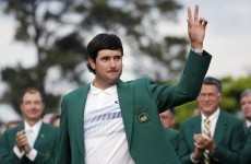 'This one was a lot better' – more tears as Bubba dons green jacket for the second time