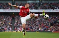Podolski reveals frustration at bit-part Arsenal role