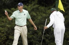 This, by Matt Kuchar, was the shot of the Masters