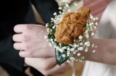 KFC is selling a fried chicken corsage for your debs date