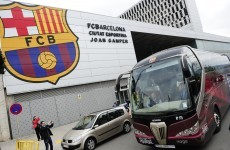 Ash cloud forces Barca to alter Wembley travel plans