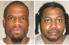 The first 'double execution' in the US for 14 years will be carried out on Tuesday