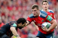 Munster need to explode over the gainline today and CJ is the man they need to fire