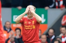 Liverpool slip up at home to allow Chelsea and Man City back in to title race
