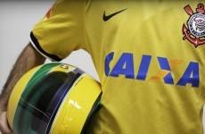 Corinthians players will wear helmets to mark Ayrton Senna's 20th anniversary tonight