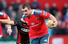 Ambitious for Ireland caps, Munster's James Cronin wants a Pro12 medal