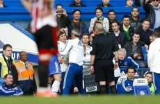 Chelsea's Faria banned for six matches after ref row