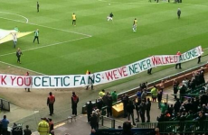 'We've Never Walked Alone' – Liverpool fans thank Celtic for Hillsborough support