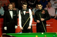 Ronnie O'Sullivan leads 10-7 after first day of the World Championship final