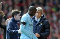 City fans breathe a sigh of relief as Toure declares himself fit for title run in