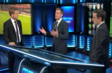 Carragher and Neville had some choice words for Liverpool's leaky defence last night