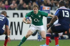 Andrew Trimble voted the IRUPA Player of the Year