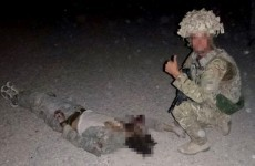 "Two RAF members withdrawn from duties over ""graphic photo with Afghan body"""