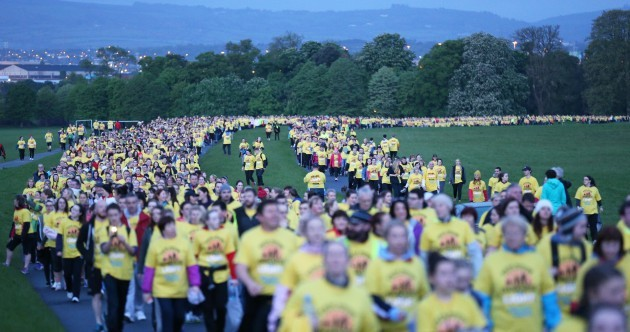 Home and abroad, 80,000 turn out to walk from 'Darkness into Light' [pics]