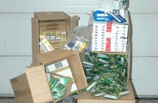 Man in 60s arrested after €65,000 worth of cigarettes found in Dublin lockup