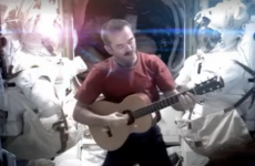 Chris Hadfield's David Bowie cover removed from the internet