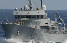 Asbestos found on LÉ Aoife this week should have been removed a decade ago