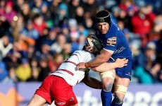 O'Brien on the Leinster bench, as Best and Pienaar return for Ulster