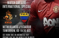 Is this another not-so-subtle Van Gaal hint as MUTV show Netherlands friendly?