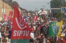 Thousands protest over proposed closure of Navan emergency department