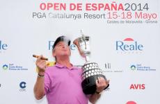 Jimenez, 50, credits 'good food, wine and cigars' after latest European Tour triumph