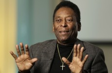 Pele pens song for Brazil World Cup campaign