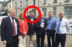 Guess who's back? Brian Cowen hits the campaign trail in Tullamore