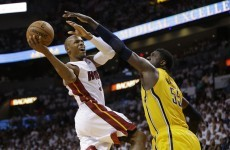 NBA's second oldest player helps Heat to burn off Pacers