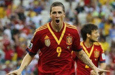 Fernando Torres fighting hard for spot on Spain's plane to World Cup