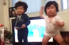 You WISH you had moves like this dancing baby