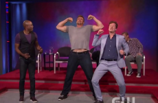 The Gronk went on 'Whose Line Is It Anyway' to bench press and dance — it was pretty cringetastic