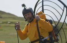 This guy just took an incredible paramotor flight from Malin to Mizen