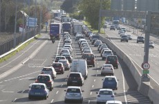M50 a 'car park' this morning, as overturned truck causes traffic gridlock