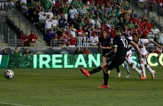 Penalty save denies Ireland victory over 10-man Costa Rica