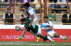 Cave and Sexton star as Ireland survive early scare in Argentina