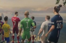 Ronaldo, Rooney and Neymar take on a team of clones in Nike's cool animation
