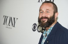 You have to see Chris O'Dowd's brilliant reaction to losing a Tony Award