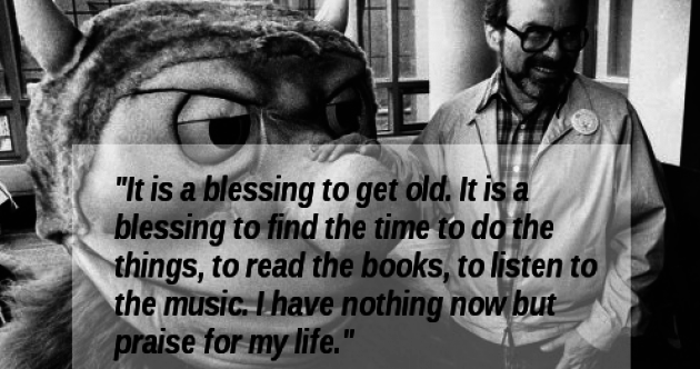 7 important life lessons we learned from Maurice Sendak