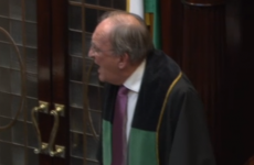 Video: Angry scenes as Micheál Martin repeatedly told to sit down before Dáil suspended