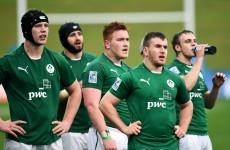 Ireland U20s make three changes for JWC semi-final with England