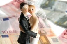 Irish couples spend an average of €19,000 on wedding