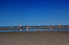 Don't go swimming at Bettystown Beach – the water's not fine