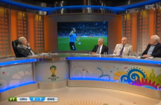RTÉ's World Cup analysis took an unexpected turn last night
